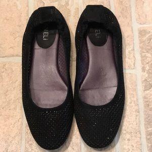 Vaneli Perforated Flat Shoes
